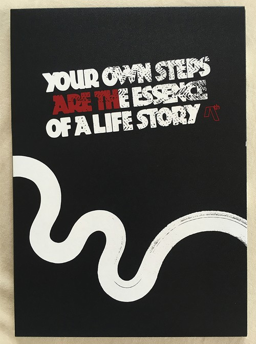 "AREth DVD "" YOUR OWN STEPS ARE THE ESSENCE OF A LIFE STORY """