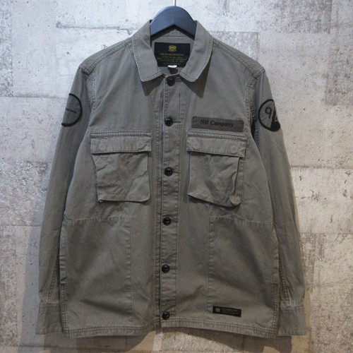 NEIGHBORHOOD 15SS BDU SOLID C-SHIRT LS