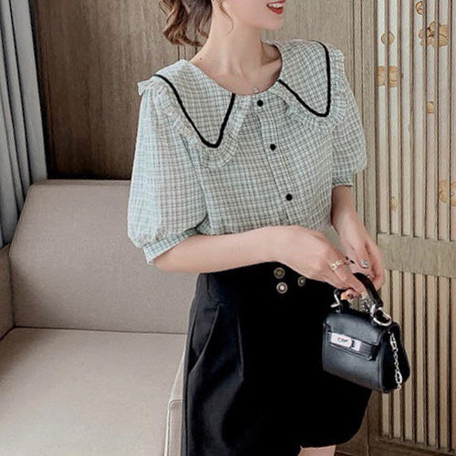 line collar tops