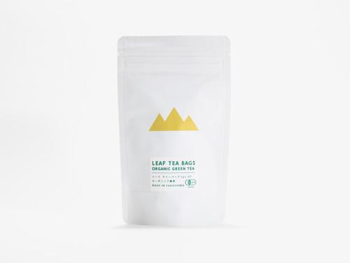 リーフティーバッグ  オーガニック緑茶