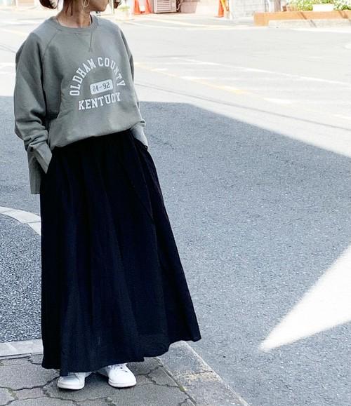 ✔︎2021ss collection  ギャザーフレアスカート