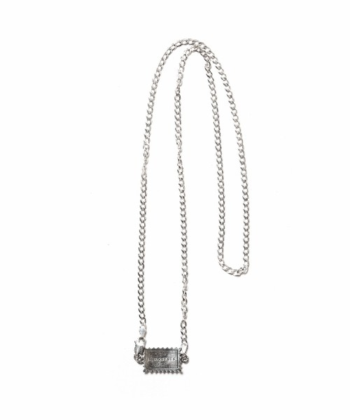 NARROW NECKLACE(SILVER) SILVER-01