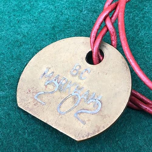 NCB Colliery Check & Vintage Leather Bracelet #202