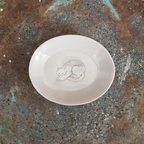 銀獣豆皿 d