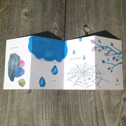 4枚綴りポストカード Vol.01