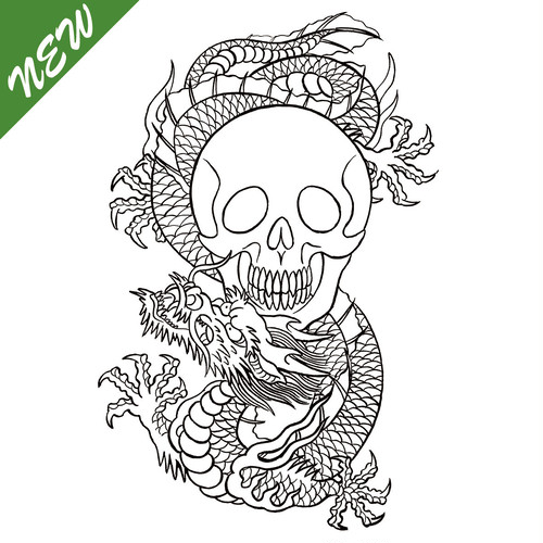 """DRAGON SKULL""TxMxD FLASH SERIES"