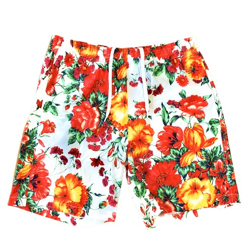 MSGM Floral Pattern Shorts MULTI
