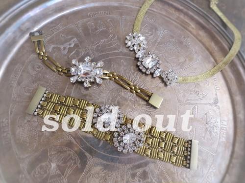 vintage bracelet bijoux <PNL-2RB1>