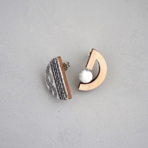 pierced earrings C-P06/earrings C-E06<gold>