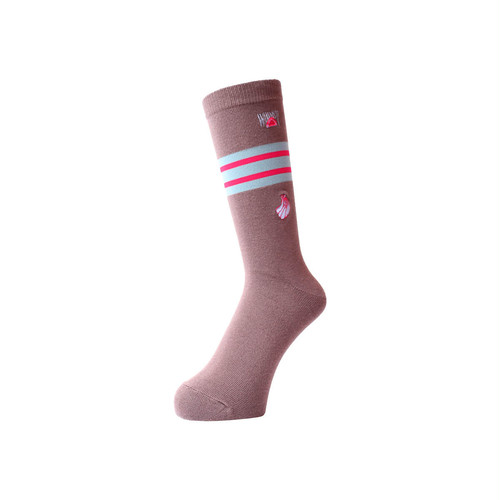 WHIMSY - 32/1 FRESH DELIVERY SOCKS (Brown)