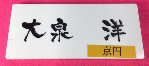 表札(マンション・アパート用)小型タイプ