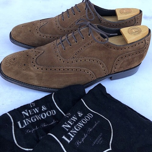 New&Lingwood Eton Collection Bath Brouge Shoe UK8.5