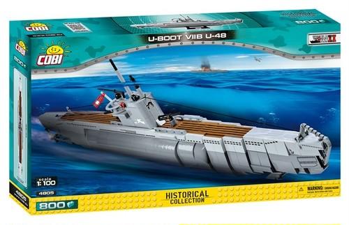 COBI #4805 UボートVII型 U-48