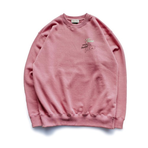 Drive in  Channel  Sweat  ( Pink )