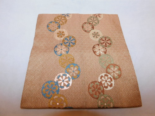 小袱紗a small silk cloth used in the tea ceremony (No7)