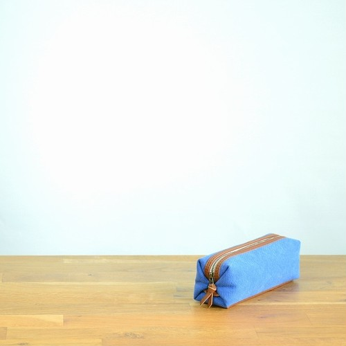 CANVAS PEN CASE S / DEEP BLUE