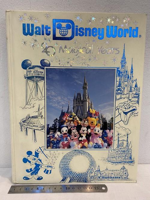 洋書 WALT DISNEY WORLD 20MAGICAL YEARS