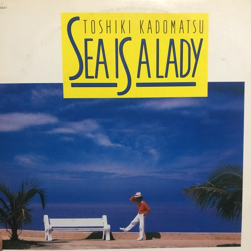 角松敏生 TOSHIKI KADOMATSU / SEA IS A LADY (1987)