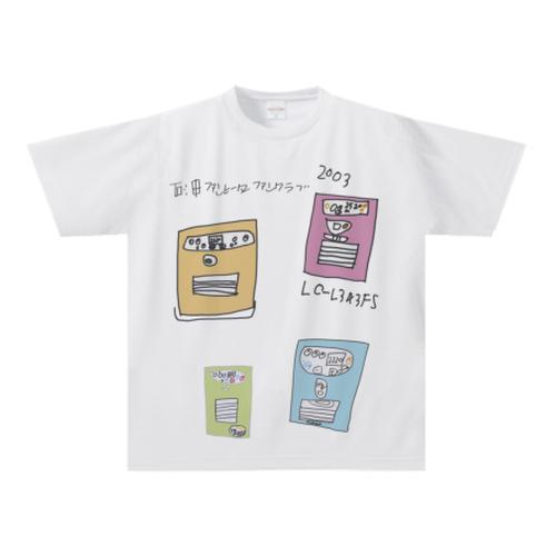 オリジナルTシャツ:まつねくん作「石油ファンヒーターファンクラブ」