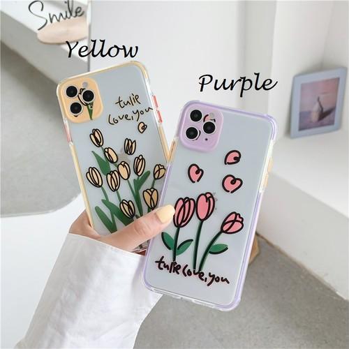 Tulips flower iphone case