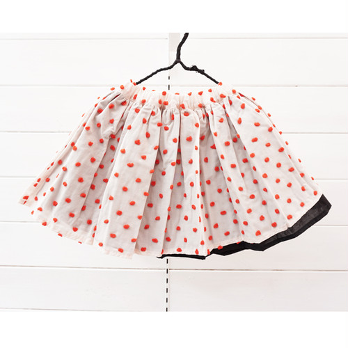 BONBON CUT JQ AIRY SKIRT / LL