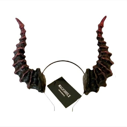 horn accessory  DEVIL × BIG / BLACK RED