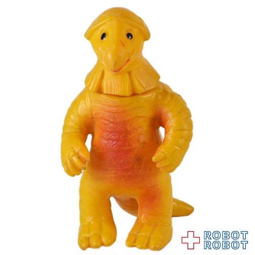 ブルマァクミニソフビウルトラ怪獣 ゴキネズラ 黄色成形 メタリック赤スプレー