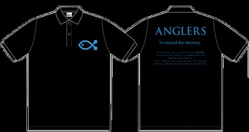 ANGLERS ポロシャツ 1(BLACK)
