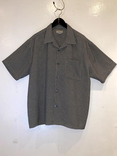 NATURAL ISSUE オープンカラーシャツ