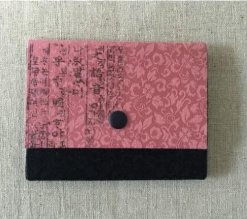 訓民正音 シルクのカードケース