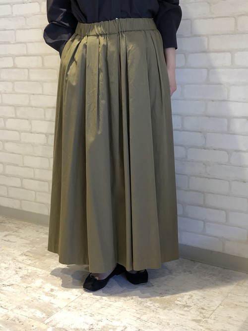 cafune/135604/ロングスカート(カーキベージュ)