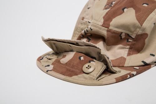 6C DESERT CAMO BDU CAMP CAP T-1