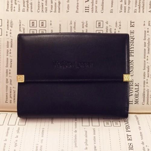 Yves Saint Laurent leather wallet