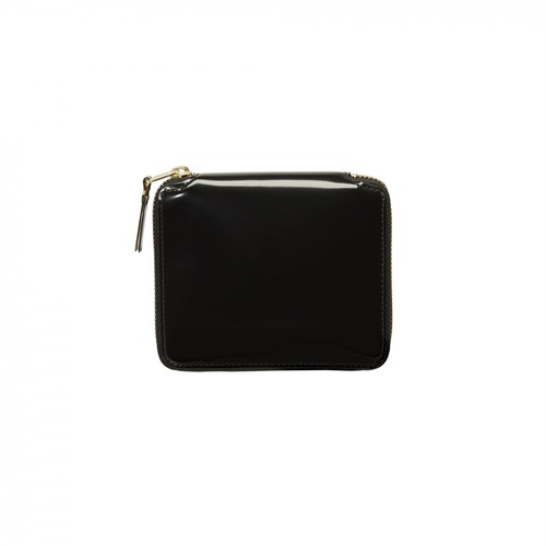 WALLET COMME des GARCONS【ウォレットコムデギャルソン】Mirror Inside Round Wallet (Gold)