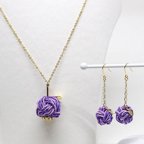 【予約商品】魅惑の香り紫りんご アクセサリーセット