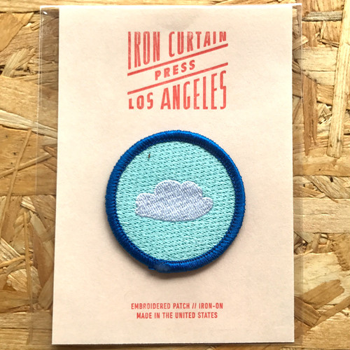 Iron Curtain Press Patches / Cloud