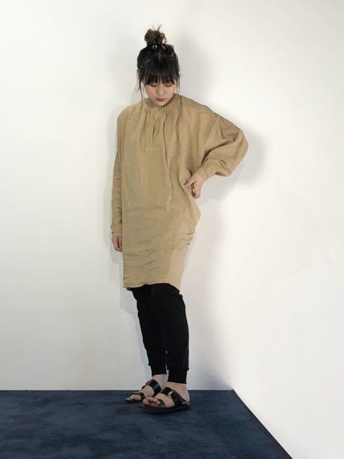 【20AW】bassike ベイシーク / Linen Blouse