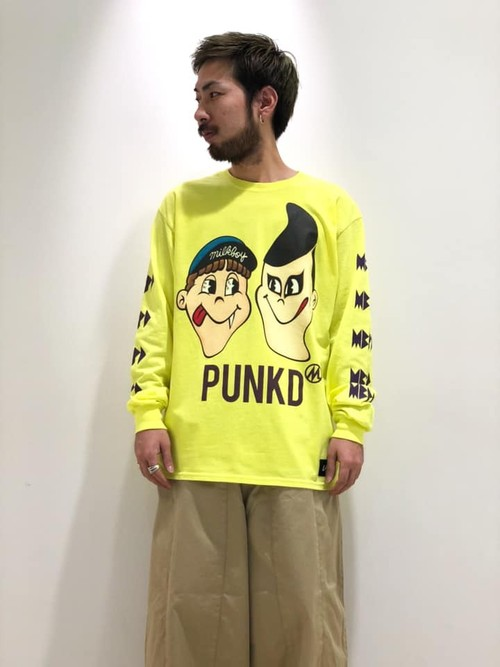 [PDSxLAND BY MILKBOY]MBPDロンTEE / YELLOW