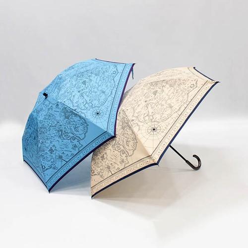 manipuri(マニプリ) 晴雨兼用折り畳み傘 map [送料無料]