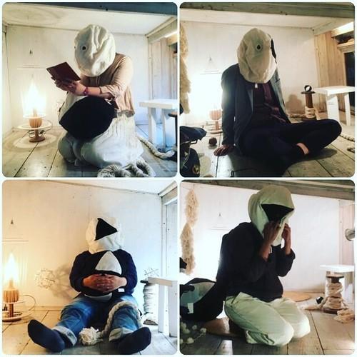 《EXHIBITION》装具-融具 ヒラタヨシアキさんとの二人展 at gallery yolcha 2017.10.26-11.5