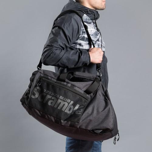 スクランブル・3通り使える、全部入れられるバッグ(3-WAY MITSU HOLDALL)