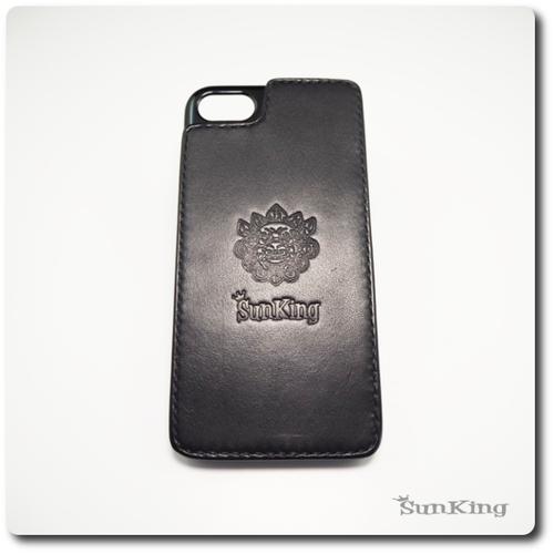 スマホケース ブラック iphone8 iphone7 昭南皮革