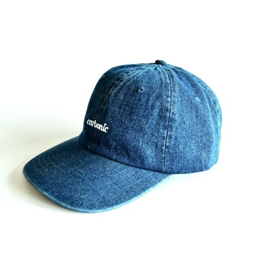 carbonic 6PANEL denim cap