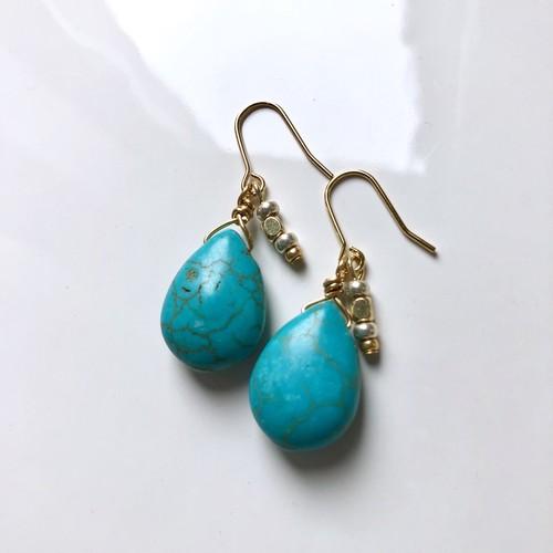 turquoiseピアス