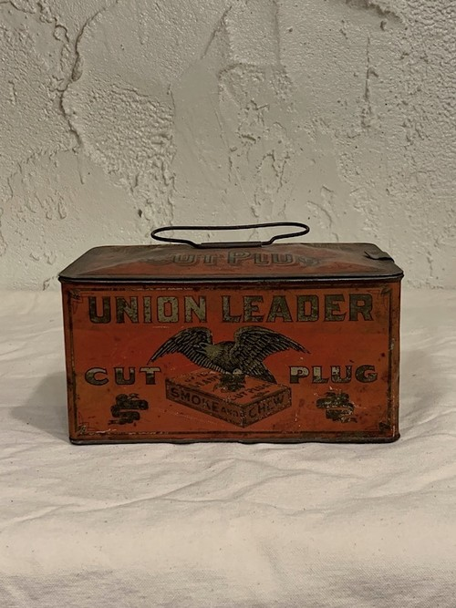 "CIGARETTE CANS "" UNION LEADER """