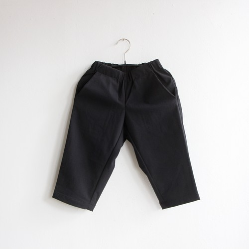 《MOUNTEN. 2020AW》double cloth stretch pants / black