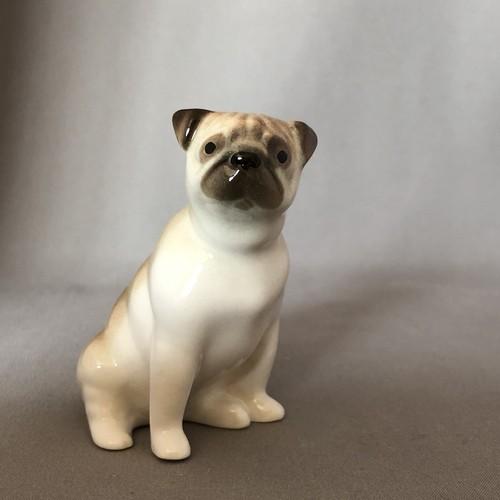 新品 Imperial Porcelain パグ 犬     IP167