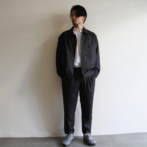STILL BY HAND  【 mens 】wool coverall