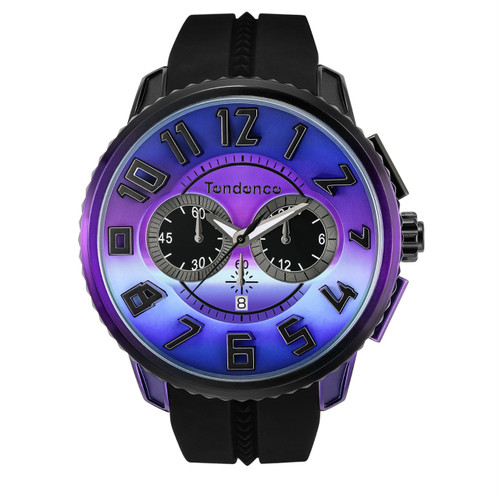 【Tendenceテンデンス】 ディカラー TY146103/オーロラ スイスメイド腕時計