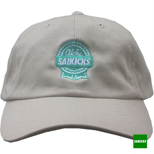 SAIKICKS RIBBON COTTON 6PANEL CAP